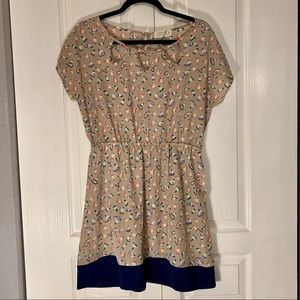 NWOT Love Tree polyester dress L